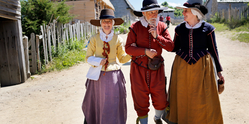 Plimoth Plantation Village - Plymouth County, MA