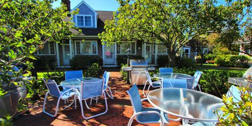 New Outdoor View - Brant Point Courtyard - Nantucket, MA