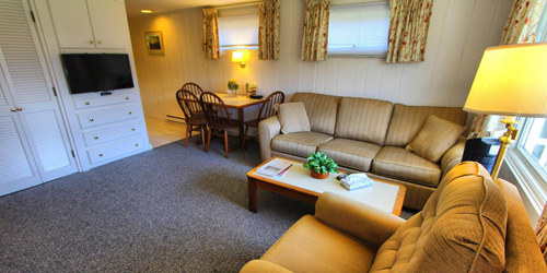 Living Area - Brant Point Courtyard - Nantucket, MA