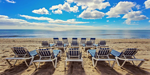 Beach Chairs - Edgewater Beach Resort - Dennisport, MA