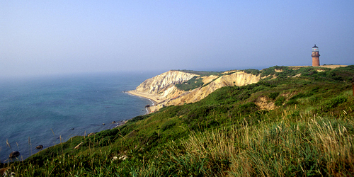 Aquinnah cliffs on martha's vineyard