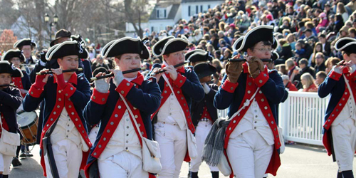 Fife & Drum Parade - Plymouth 400 - Plymouth, MA