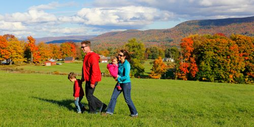 Fall Family Hiking - The Berkshires of Western MA - Photo Credit Ogden Gigli