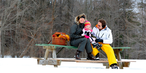 Winter Family Outing - The Berkshires of Western MA - Photo Credit Ogden Gigli