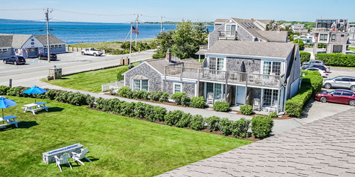 Balcony View - Beachside Village Resort - Falmouth, MA