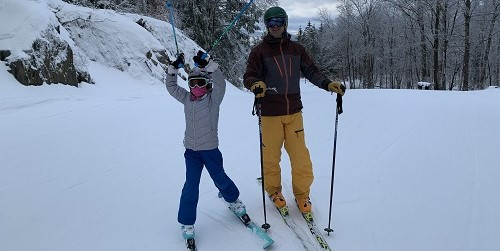 Winter Family Skiing - The Berkshires - Western Massachusetts