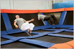 Jump Now at the Trampoline Park