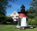Lighthouse in the Yard - Viking Shores Motor Inn - North Eastham, MA