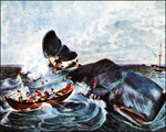 Whaling by Sail in the Tough Old Days