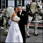 Wedding Carriage - Publick House Historic Inn - Sturbridge, MA
