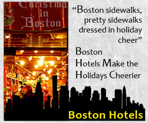 Boston Hotels make the Holidays cheerier!