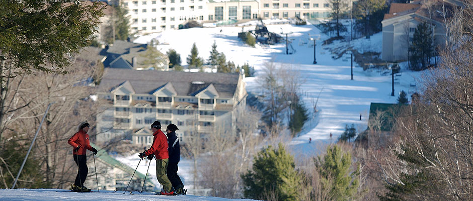 Skiing at Jiminy Peak Resort. Photo courtesy of MOTT