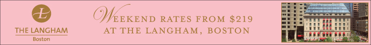 Weekend Rates from $219 at The Langham, Boston MA