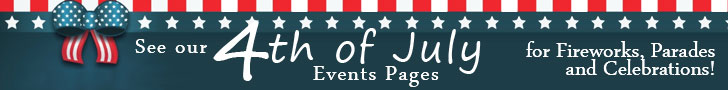 Click here to see VNE's July 4th 2015 Weekend Events Calendar! Fireworks shows, Parades and Celebrations!