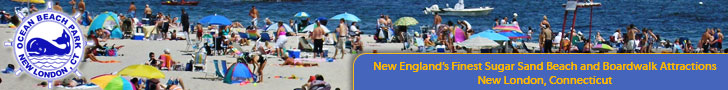 Ocean Beach Park in New London, CT - New England's Finest Sugar Sand Beach and Boardwalk Attractions