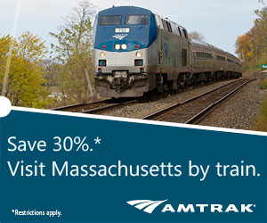 Amtrak - Visit Massachusetts by Train and Save 30%!