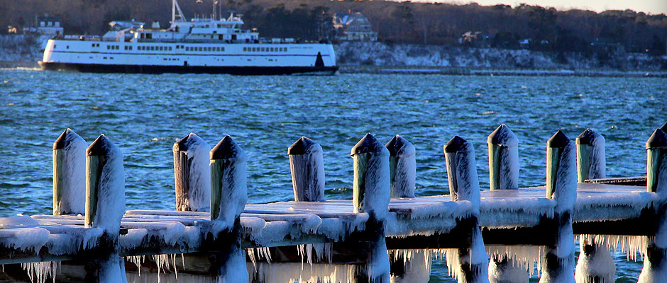 Chilly morning in Vineyard Haven Source: MOTT