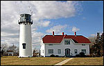 Chatham Light at Chatham Harbor