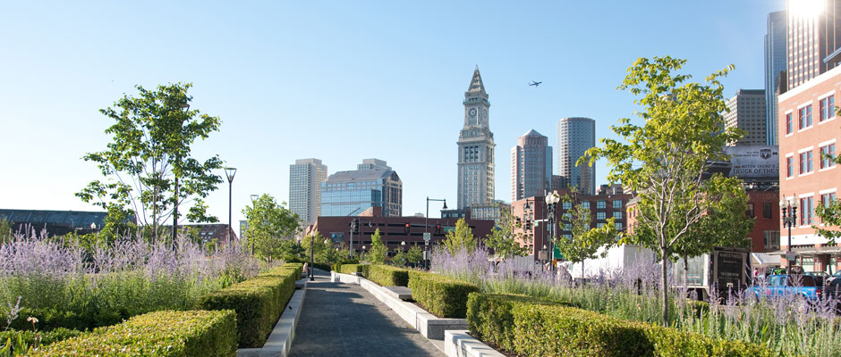 Rose Kennedy Greenway in Boston
