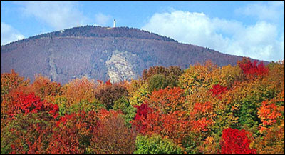 Summit of Mount Greylock