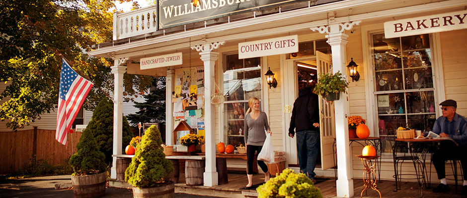 Fall at General Store Williamburg