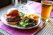 Burger & Beer - The Williams Inn on-the-Green at Williams College - Williamstown, MA