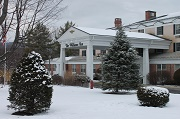 Fresh Coating of Snow - The Williams Inn on-the-Green at Williams College - Williamstown, MA