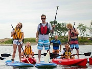 Paddling Family - Little Harbor Boathouse - Marblehead, MA
