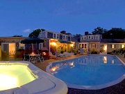Evening Pool - Lamb & Lion Inn - Barnstable, MA