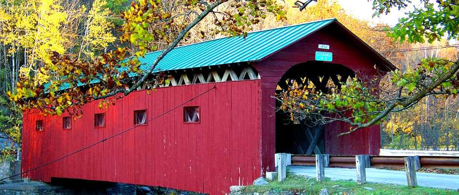 West Arlington covered bridge